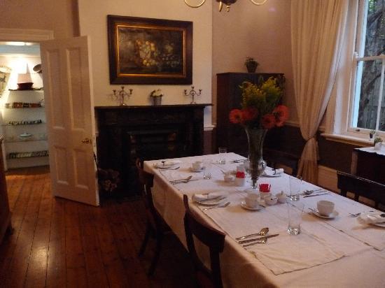 Parker Cottage: Frühstücksraum