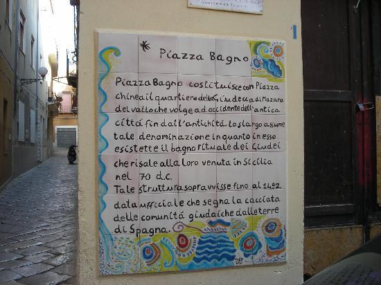 Mazara del Vallo, Italy: Piazza Bagno