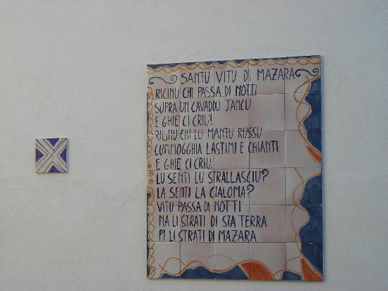Mazara del Vallo, Italia: Dedicato a San Vito