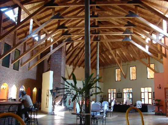 Olasiti Lodge, Tanganyika Wilderness Camps: Lobby of the main lodge