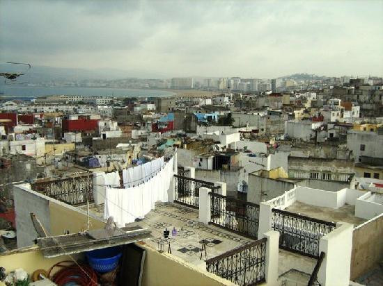 Tanger, Marokko: Panorama dalla Qasba_1