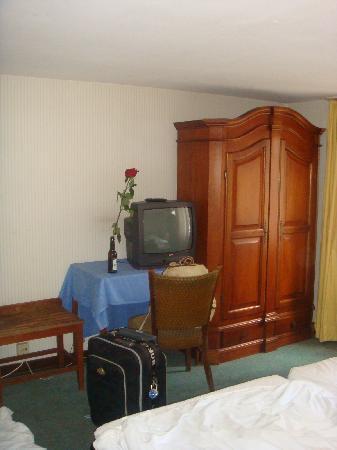 Das Kleine Stapelhauschen : Our room on the last floor