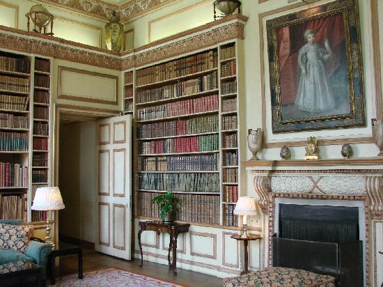Leeds Castle Bibliothek
