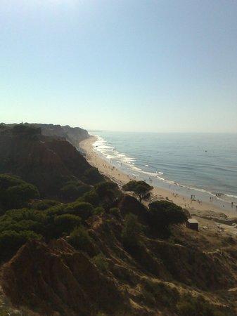 Luna Falesia Mar: fantastic beach at othos d'agua