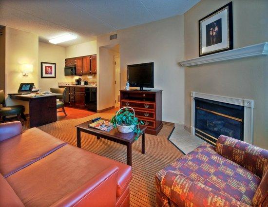Homewood Suites by Hilton Chattanooga/Hamilton Place : Suite Living Area