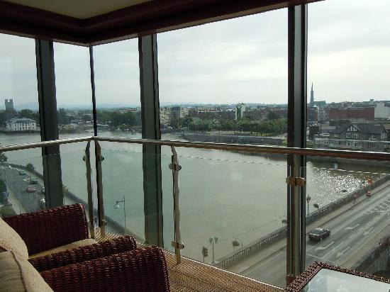 "Limerick Strand Hotel: The ""indoor"" balcony"