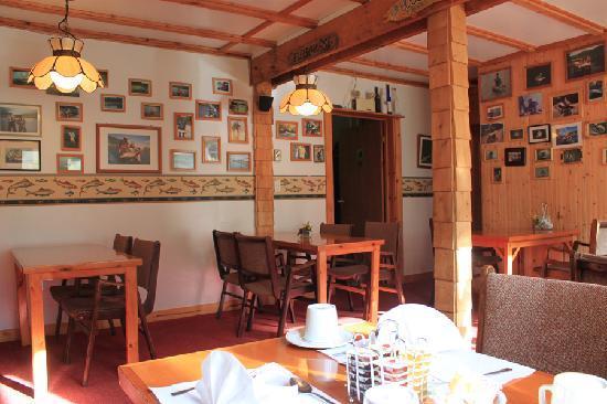 Big Intervale Fishing Lodge: the restaurant