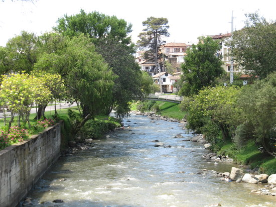 Cuenca, Ecuador: The river.