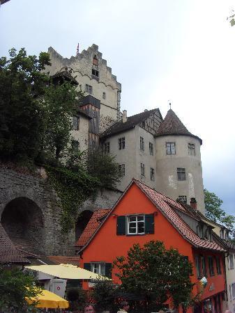 Meersburg (Bodensee), Tyskland: Burg Meersburg