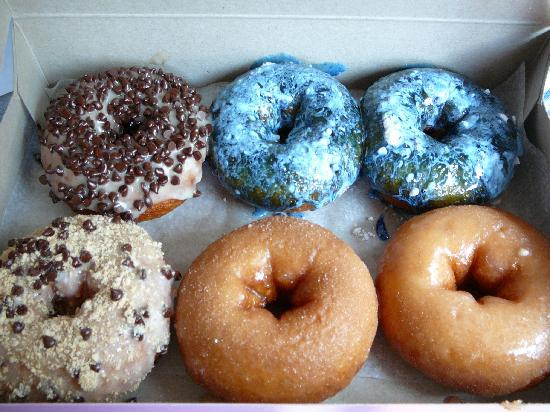 Our donuts Day TWO at Fractured Prune
