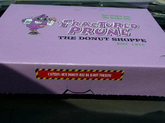 Habit Forming Donuts Box from the Fractured Prune