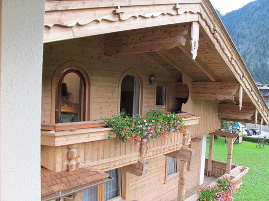 Hotel Garni Glockenstuhl: Our Balcony