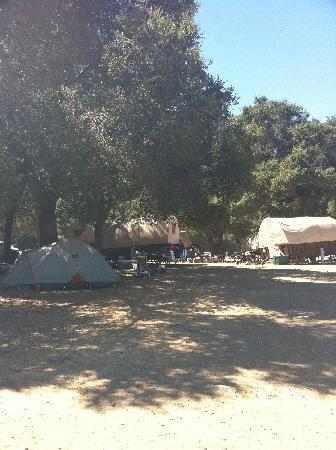 Rancho Oso RV & Camping Resort: Rancho Oso Cowboy Wagons