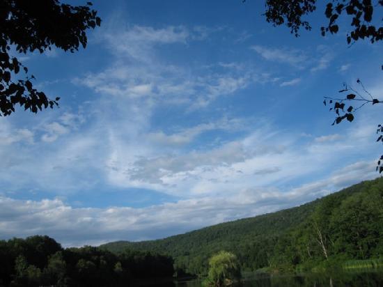 Susan's Pleasant Pheasant Farm: A Catskill sky.
