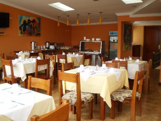 Hotel Boutique Plaza Sucre: Breakfast Area 4th Floor