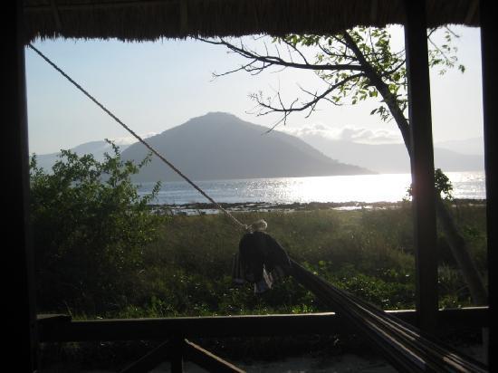 Alor Divers Eco Resort : Vue de la terrasse