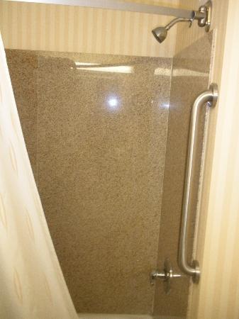 Comfort Suites Jackson/Cape Girardeau: shower