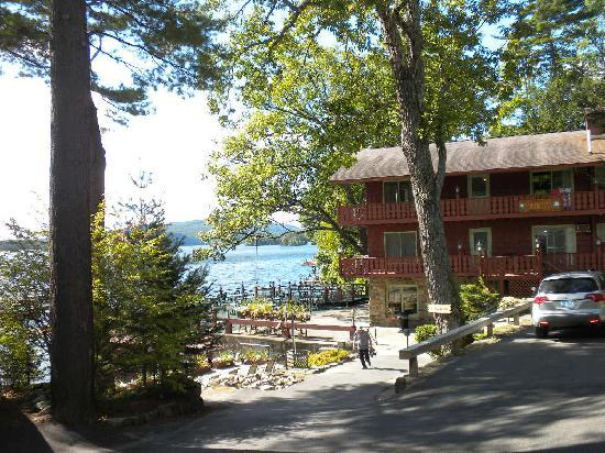 Canoe Island Lodge: View of Cottage