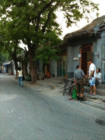Kellys Courtyard : Hutong entrance