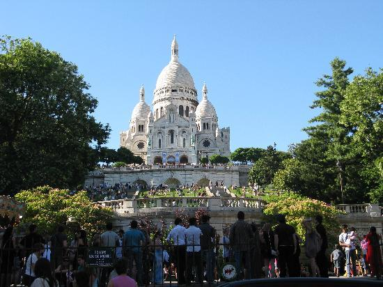 Paris, France: sacro cuore
