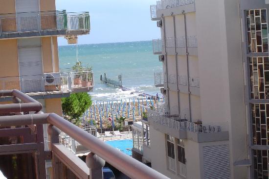 Hotel Torino: Vista sul mare N°3