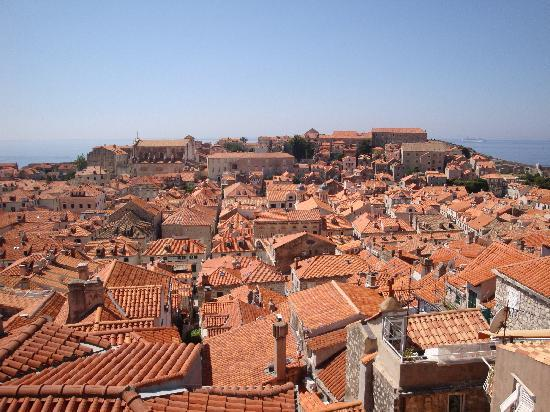 Dubrovnik, Kroatië: A view from the Walls