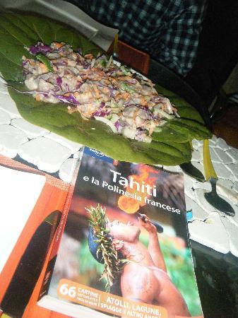 Tevahine Dream: Poisson cru de thon au lait de coco