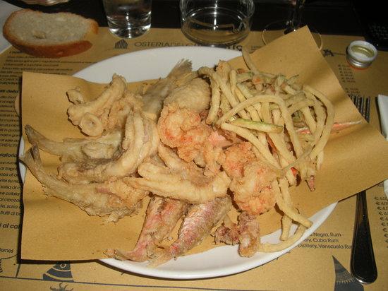 Osteria del Gran Fritto: Il gran fritto