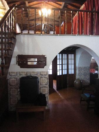 Solar do Conde: entrance to our bungalow