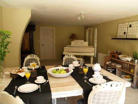 Bed and Breakfast Benidorm: Desayunos invernales