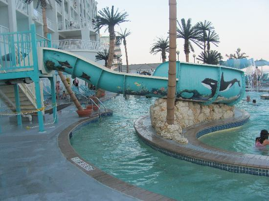 Ocean City Hotels >> Kiddie Pool Picture Of Hilton Suites Ocean City Oceanfront Ocean