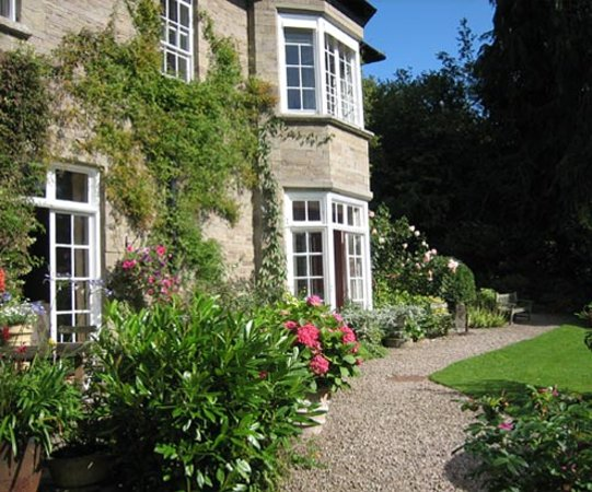 The Old Rectory from the garden