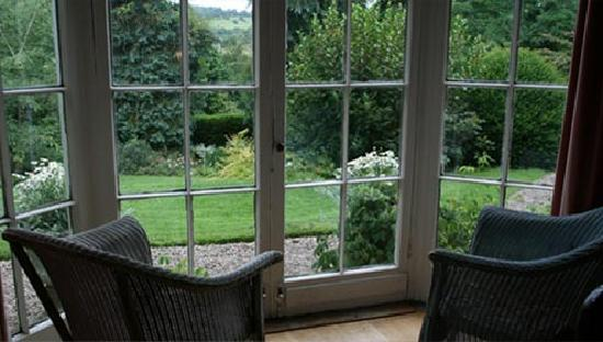 The Old Rectory: View from the dinning room