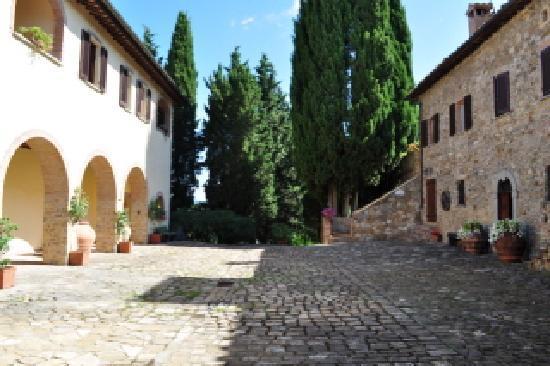 Quercia al Poggio: Hauptgebäude