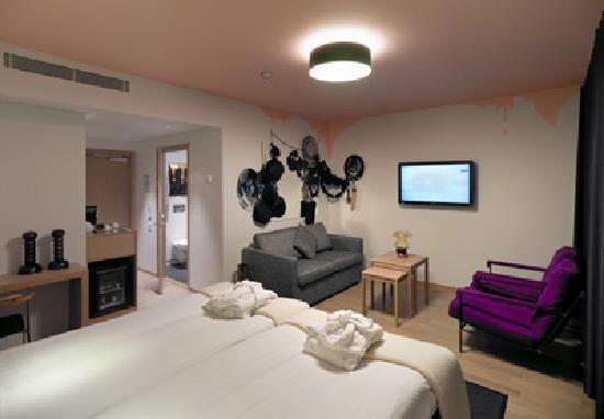 Kosta Boda Art Hotel: Zimmer