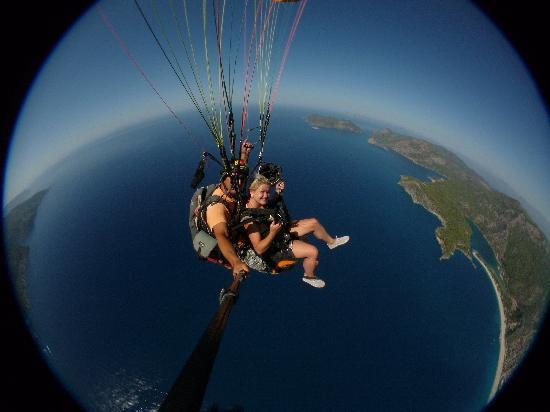 Hisaronu, Turquie : UP, UP and AWAY