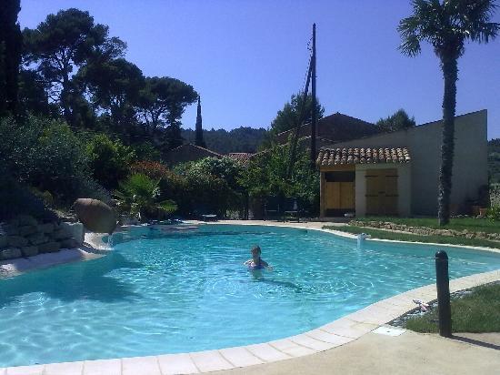 Le Coq du Nord: Heavenly pool!