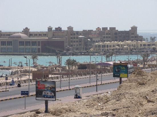 Magma Apartments - Hurghada Dream: vista da balcone