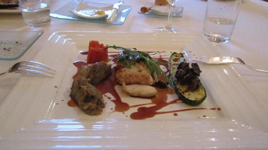 Logis Le Gavrinis : Main course
