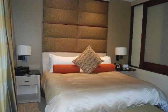 Allison Inn & Spa: comfy bed