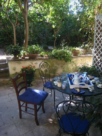 B&B Palazzo Bernardini: Our beautiful breakfast