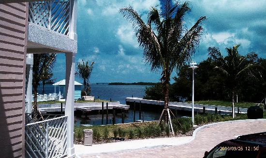 Islander Bayside Townhomes, a Guy Harvey Outpost: view from fron porch, also a balcony...