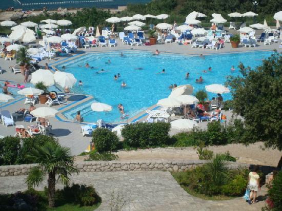 Valamar Club Dubrovnik : vue de notre chambre