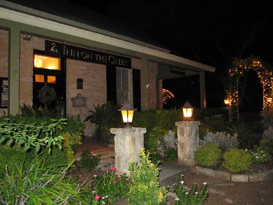 Inn on the Creek: Exterior Night