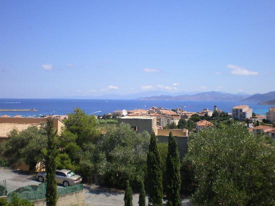 Cala di l'Oru: Panorama dalla mia camera