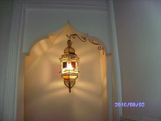 Riad le Clos des Arts: una delle bellissime lanterne
