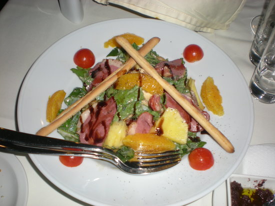 Fuamo Steakhouse : fusion salad