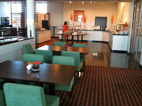 Hotel im GVZ : The breakfast room