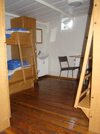 STF af Chapman & Skeppsholmen Hostel: Zimmer