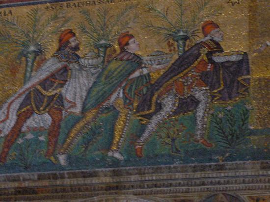 Ravenna, Italia: Mosaik-Kunst